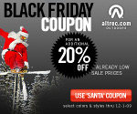 Black Friday Coupon - 20% off Coupon SANTA